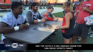Are the Aztecs a big enough draw for football fans in SD?