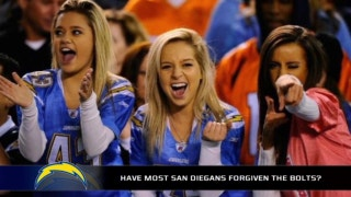Are the majority of San Diegans secretly forgiving the Chargers?