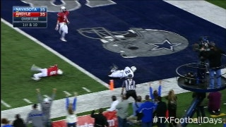 Outstanding catch leads to Navasota TD - Texas Football Days Classics