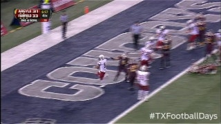 QB Keepers leads to Argyle TD - Texas Football Days Classics
