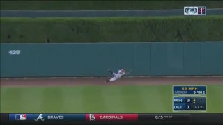 WATCH: Twins' Buxton, Kepler shine with stunning defensive plays