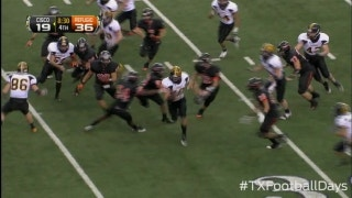 Cisco returns kickoff 85-yards for touchdown - Texas Football Days Classics