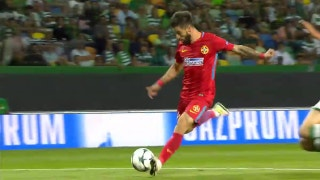 Sporting CP and Steaua Bucuresti both come up empty in first leg of Champions League playoff