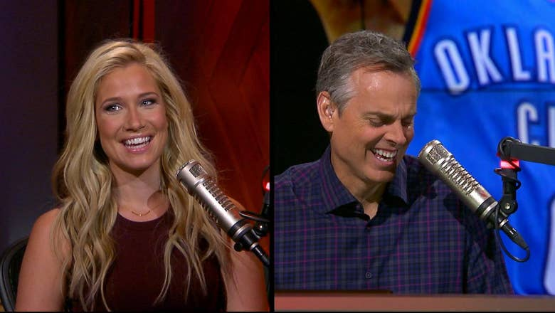 Russell Westbrook disses Colin during a run-in with Kristine at an L.A. barbershop | THE HERD