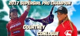 Courtney Conlogue wins the 2017 Paul Mitchell Neon Supergirl Pro