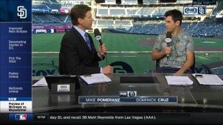 Dominick Cruz talks Mayweather-McGregor on Padres Live