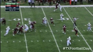 Ennis pulls off awesome hook-and-lateral vs. Cedar Park - Texas Football Days Classics