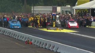 Robert Hight Wins Funny Car Final at Seattle | 2017 NHRA DRAG RACING