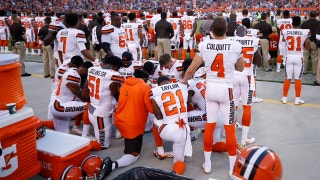 Whitlock says Browns players who took a knee during anthem promoted wrong conversation