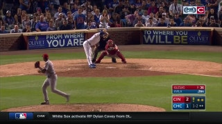 WATCH: Iglesias records five-out save in Reds win