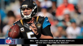 Do the Jaguars have to bench Blake Bortles?