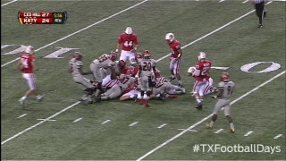 Costly Katy fumble leads to Cedar Hill TD - Texas Football Days Classics
