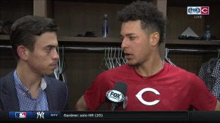 Reds' Luis Castillo discusses his strong start against the Braves