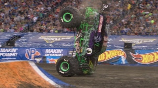 Grave Digger wins first ever Two-Wheel competition in Foxborough