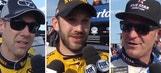 Top Finishers at Watkins Glen Post-Race Interviews | 2017 Watkins Glen | NASCAR VICTORY LANE