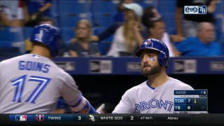 Kevin Pillar's go-ahead home run helps Toronto to 7-6 win over Tampa Bay