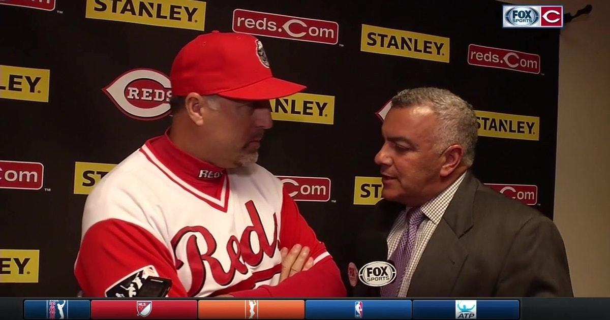 Cincinnati Reds Skipper Bryan Price Praises Luis Castillo