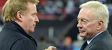 Is it a mistake for Roger Goodell to be in charge of NFL discipline?