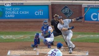 Yankees' Gary Sanchez belts 3-run homer vs. Mets