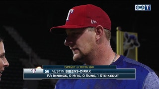 Austin Bibens-Dirkx on Rangers win over the White Sox
