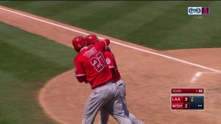 WATCH: Valbuena, Calhoun homers enough to get Angels by the Nationals