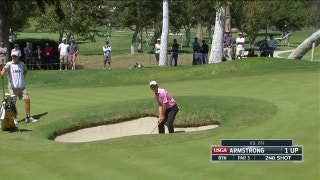 Dawson Armstrong gets creative on his way out of the bunker