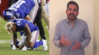 Dean Blandino explains how the low hit on Odell Beckham was legal