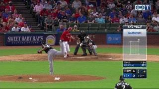 Brett Nicholas smashes two-run homer against White Sox
