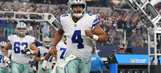 Dallas Cowboys defeat Indianapolis Colts in preseason action
