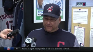 Terry Francona provides favorable update on Corey Kluber's ankle