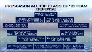 Prep Zone: Preseason All-CIF Defensive Team