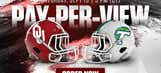 Oklahoma – Tulane to be televised on PPV