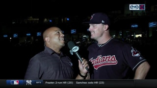 Jay Bruce fitting right in with his new team