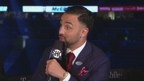 VIDEO: Ex-Conor sparring partner and former pro boxer Paulie Malignaggi offers his insight on the fight