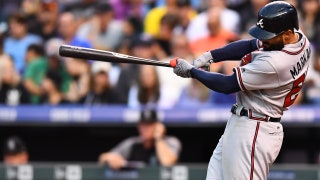 Watch Nick Markakis crush his seventh home run of the season at Coors Field