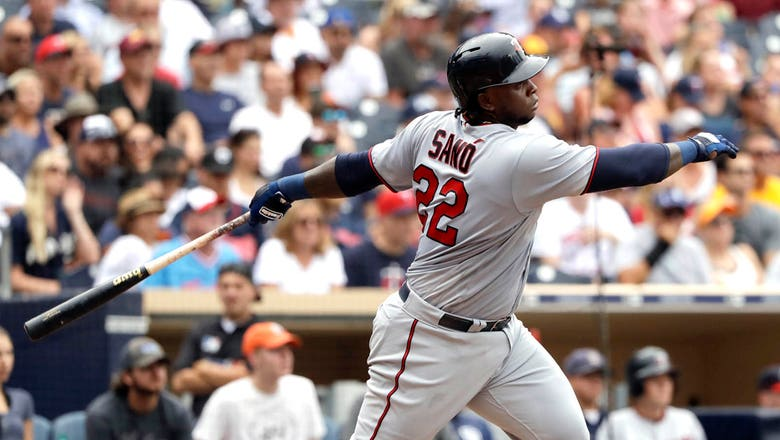 Twins activate 3B Sano from DL, option Cave to Triple-A