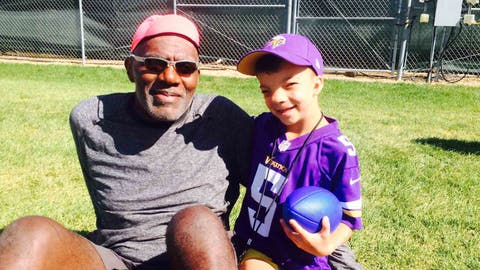 Obadiah Gamble, Vikings fan