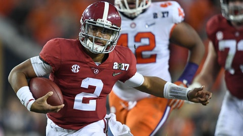 6. Jalen Hurts, QB Alabama