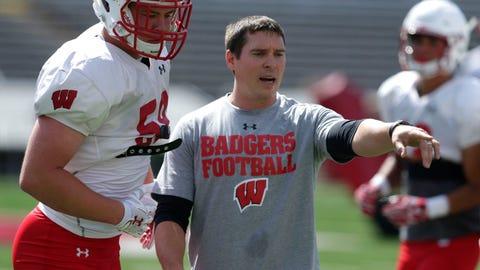 Jim Leonhard, Badgers defensive coordinator (↑ UP)
