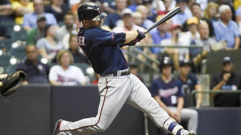 Brian Dozier, Twins second baseman (↓ DOWN)