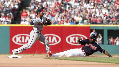 Indians' Ramirez Hit By Pitch On Forearm, Leaves Twins' Game