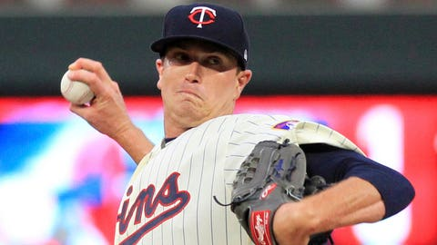 Kyle Gibson, Twins starting pitcher (↑ UP)