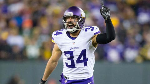 Andrew Sendejo, Vikings safety (↓ DOWN)