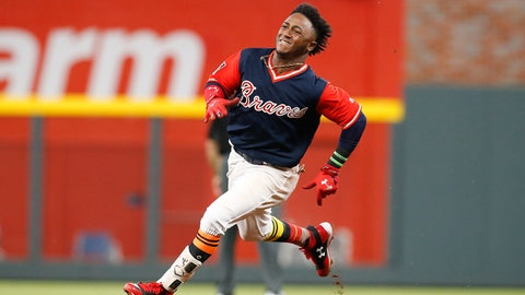 2. Ozzie Albies hitting triples at historical pace to begin career