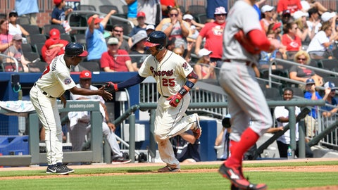 Three Cuts: Braves catching platoon providing likely 2018 blueprint