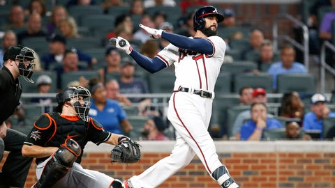 Aug. 4, 2017: Nick Markakis' 2,000th Hit