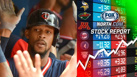 Byron Buxton, Twins outfielder (↑ UP)