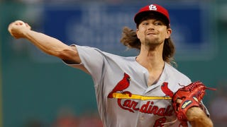 Leake says pitches caught too much of the plate