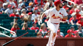 WATCH: DeJong hits solo shot to left field
