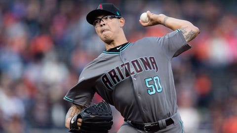D-backs starting pitcher Anthony Banda  (1-1, 3.86)